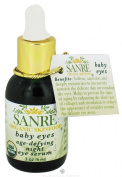 SanRe Organic Skinfood - Baby Eyes - USDA Organic Age-Defying Night Eye Serum For Delicate Eye Area