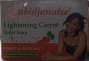 L'abidjanaise Lightening Carrot Toilet Soap 225g.