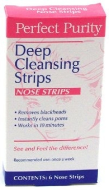 Perfect Purity Deep Cleansing Strips (6 Nose Strips in Box)