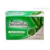 Vatika Dermoviva Naturals Aloe Vera Soap