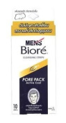 Biore Mens Nose Deep Cleansing Pore Pack Active Cool 10 Strips