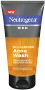 Neutrogena Men's Skin Clearing Acne Wash, 150ml