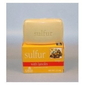 Grisi Sulphur Soap with Lanolin for Acne - 2 Pack