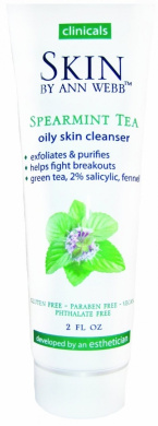 Skin By Ann Webb Cleanser, Spearmint Tea, 2 Fluid Ounce