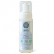"""NATURAL & ORGANIC Purifying Foaming Cleanser Face Mousse """"Moisturising & Balance"""" for Oily and Combination Skin with Sophora Japonica, Chamomile, Red Root, and Organic Herb Extracts 150 ml"""