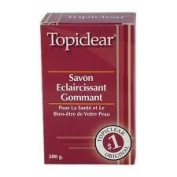 Topiclear Lightening Exfoliating Soap. 210ml