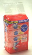 Curash Wipes Super value travel Pack Unscented 20S X5