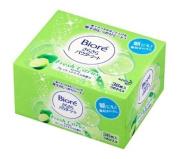 Kao Biore Sarasara Powder Sheets | Skin Care Cleansing Cloth | Deodorantet 36 Sheets Fresh Citrus