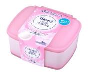 Kao Biore Sarasara Powder Sheets | Skin Care Cleansing Cloth | Deodorantet 36 Sheets Fresh Soap