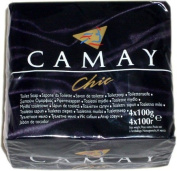 Camay Chic 4 Bar Pack Toilet Soap 4X100G