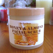 Honey & Almomd Facial Scrub/Pure Honey/Pure Almond Meal/180ml