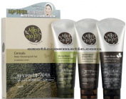 Cleansing Story Natural Facial Deep Cleansing Foam Cereal 3 Item Set