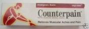 Counterpain Warm Cream Muscular Pain Relief 120g.
