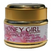 Honey Girl Organics Night Cream - Extra Sensitive, 50ml