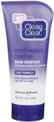 Clean & Clear Continuous Control Acne Cleanser-5 oz