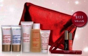 Clarins 2012 Holidays 9-Piece Skin Care Beauty Travel Gift Set