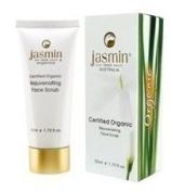 Jasmin Aromatique (Brightening) - OFC Certified Organic Rejuvenating Face Scrub