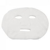 40 Pcs White Cosmetic Enlarged Cotton Masks Sheets for Ladies