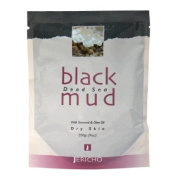Dead Sea Black Mud - 100% Natural - Great for the Face and Body - 640ml Bag