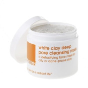LATHER White Clay Deep Pore Cleansing Mask, 120ml Jar