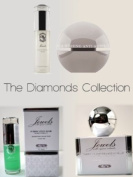 "MicaBeauty Jewels Line Skin Care With Organic Extracts The Diamonds Collection Ultimate Skin Care Package + Mica Beauty 8 Stacks Eye Shimmers ""A-viva Best 4 Green Eyes"""