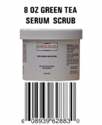 8 Oz Facial Scrub Serum to Exfoliate Dead Cells - Contains Dead Sea Mud & Green Tea and Bio Complex Active Ingredients 100% Organic and Natural Exfoliating - Exfoliator - Exfoliate - Exfoliant