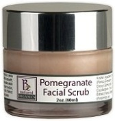 Be Natural Organics Pomegranate Facial Scrub 2 Oz