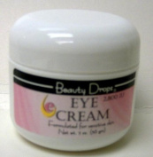 Beauty Drops Eye Cream, Formulated for Sensitive Skin, 2800 IU, 60ml
