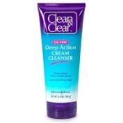 Clean & Clear Deep-Action Cream Cleanser 190ml