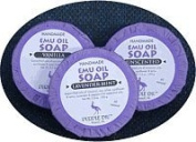 Purple Emu All Natural Handmade Bar Soap with Emu Oil Unscented 100ml Bar