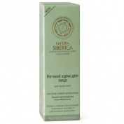 "ACTIVE ORGANICS Face Night Cream for Dry Skin ""Nourishing and Rebuilding"" with Aralia Mandshurica, Active Organics Wild Herbs and Flowers 50 ml"