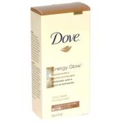 Dove Energy Glow Daily Face Moisturiser with Self-Tanner, Medium/Dark Skin, 1.7-Fluid Ounce