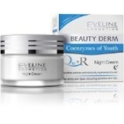 NIGHT CREAM BEAUTY DERM * 3 TIMES MORE Q10 plus R * Instantly reduces wrinkles and deeply regenerates! * For every skin type, including sensitive skin 30+