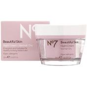 No7 Beautiful Skin Night Cream Normal / Dry