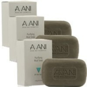 3 Pcs Avani Dead Sea Purifying Mud Soap 125gr.