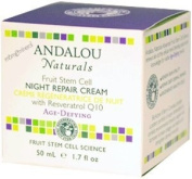 Andalou Naturals Resveratrol Q10 Night Repair Cream - 50ml
