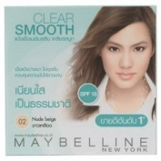 Maybelline Clear Smooth Shine Free Face Powder Nude Beidge 02