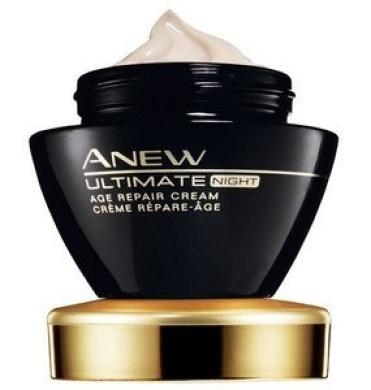 Avon Anew Ultimate Age Repair Cream Night Creme Anti-ageing 50+