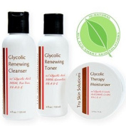 IQ Natural:Glycolic Cleansing Kit Full Size. STOP THE CLOCK!!!
