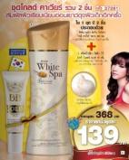 Mistine BB Gold Wonder Cream & White Spa Gold Caviar Whitening Lotion 200 Ml.