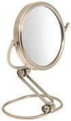 Jerdon MC315N 7.6cm Travel Folding Mirror, 15X Magnification, Nickel Finish