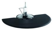 Semi Circle 5'x3' 1.6cm Thick Barber Salon Anti Fatigue Floor Mat Beauty Supplier
