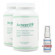 Acnepril 2 Pack and 1 Free Acnevva - Best Acne Pills - Acne Pills - The Best New Acne Treatment - Best Acne Products to Clear Skin Fast
