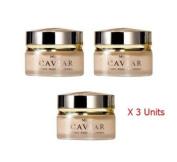 3 Units X 30g. Mistine Caviar Anti- Ageing Night Treatment Cream. (Free Gift