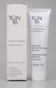 Yonka Creme PG Protective And Purifying Cream Impure Skin 100ml 3.52 fl oz HUGE BIG SIZE