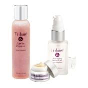 Dr. Lark's Trilane Cleanser, Moisturiser, and Eye Cream Anti-Ageing Beauty Kit
