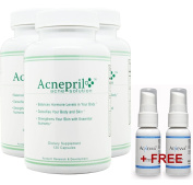 Acnepril 3 Pack and 2 Free Acnevva - Best Acne Pills - Acne Pills - The Best New Acne Treatment - Best Acne Products to Clear Skin Fast