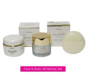 Authentic Mosbeau Placenta White 3pc Face & Body Whitening Set