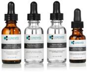 Vitamin C 20% serum + Resurface serum + Hydra B5 gel + Firming Eye gel Advanced Formula +. Prevent / Resurface / Hydrate / Firm Eyes - 4 combo pack - 1 fl oz / 30 ml each.