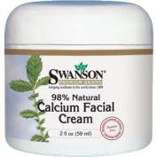 Calcium Facial Cream, 98% Natural 2 fl oz (59 ml) Cream